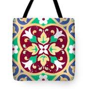 Ceramic Tile Closeup Tote Bag