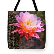 Cereus In Pink Tote Bag