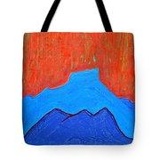 Cerro Pedernal Original Painting Sold Tote Bag