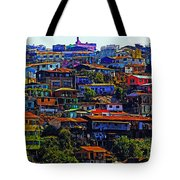 Cerro Valparaiso Tote Bag