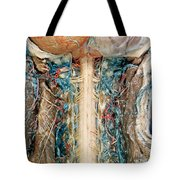 Cervical Spinal Cord, Posterior View Tote Bag