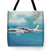 Cessna 310 Twin Engine Tote Bag