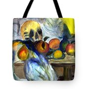 Cezanne Still Life With Skull Tote Bag