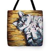 Chachi Cat Portrait Tote Bag