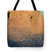 Chaco Canyon Indian Ruins, Sunset, New Tote Bag