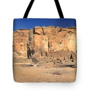 Chaco Culture Puebo Bonito Panorama Tote Bag