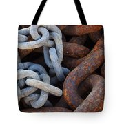 Chain Links Tote Bag by Carlos Caetano