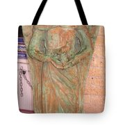 Chained Angel Tote Bag