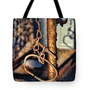 Chained Tote Bag