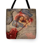 Chains Of Love Tote Bag