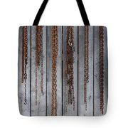 Chains On The Wall Tote Bag