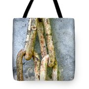 Chains Time Tote Bag