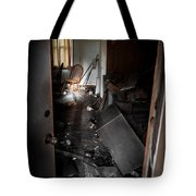 Chair At The Table Tote Bag