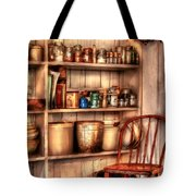 Chair - Chair In The Corner Tote Bag