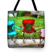 Chair Family Tote Bag