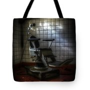 Chair Of Horror Tote Bag