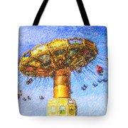Chairoplane Waveswinger Tote Bag