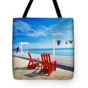 Chairs Cape Cod Ma Tote Bag