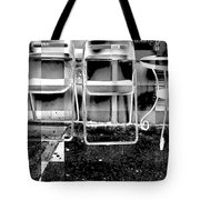 Chairs - New York City Street Scene Tote Bag