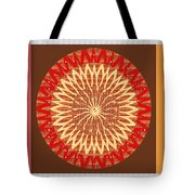 Chakra Mandala With Crystal Stone Healing Energy Plates By Side  Navinjoshi Rights Managed Images Fo Tote Bag