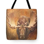 Bull Moose - Challenge Tote Bag by Crista Forest