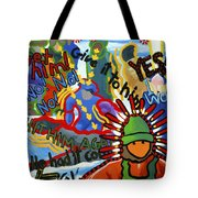 Challenge To Action Tote Bag