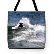 Challenge Yourself-surf Tote Bag