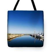 Challenger Harbour Of Fremantle Tote Bag
