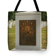 Challenger Space Shuttle Memorial Tote Bag by Kim Hojnacki