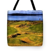 Chambers Bay Lone Tree Tote Bag