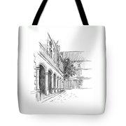 Chambord Courtyard Tote Bag