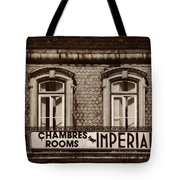 Chambres Imperial Lisbon Tote Bag