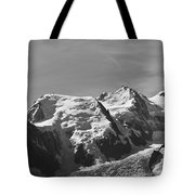 Chamonix Mont Blanc Tote Bag by Camilla Brattemark