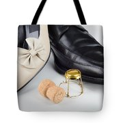 Champagne And Shoes For Saint Valentine Tote Bag