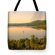 Champlain Viewed From Ticonderoga Tote Bag