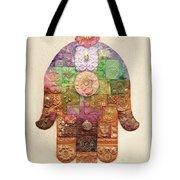 Chamsa Tote Bag by Michoel Muchnik