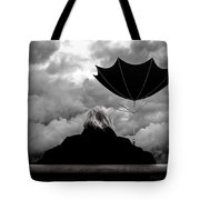 Chance Of Rain   Broken Umbrella Tote Bag