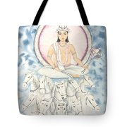 Chandra The Moon Tote Bag