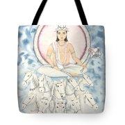 Chandra The Moon Tote Bag