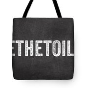Change The Toilet Paper Tote Bag