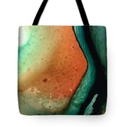 Green Abstract Art - Changing Course - Sharon Cummings Tote Bag