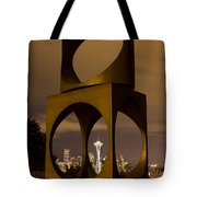 Changing Form Of Seattle Tote Bag