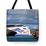 Channel Islands Ferry Tote Bag