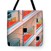Channeling Mondrian  Tote Bag