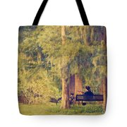 Channelling Bob Dylan Tote Bag