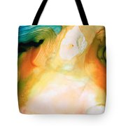 Channels - Abstract Art By Sharon Cummings Tote Bag