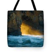 Chaos - Pfeiffer Beach Tote Bag by George Buxbaum