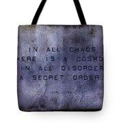 Chaos - Carl Jung Tote Bag