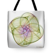 Chaoscope Abstract 3d Stereo - Use Red-cyan Filtered 3d Glasses Tote Bag