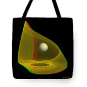 Chaoscope Abstract - Use Red-cyan Filtered 3d Glasses Tote Bag